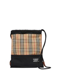 Burberry Vintage Check Panelled Backpack 60