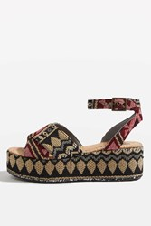 Topshop Whisper Wedges Multi