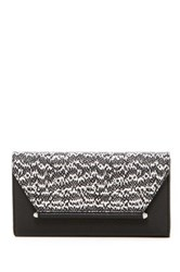 Vince Camuto Addy Leather Tri Fold Wallet Black