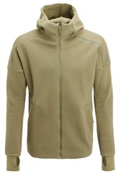 Adidas Performance Tracksuit Top Olive Cargo