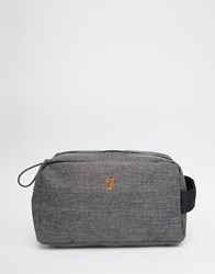 Farah Lawford Wash Bag Grey