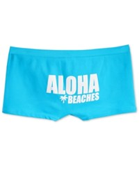 By Jennifer Moore Seamless Boyshort Only At Macy's Aloha Beaches