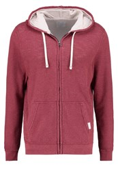 Abercrombie And Fitch Lounge Tracksuit Top Red Bordeaux