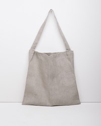 Fog Linen Work Johann Crossbody Bag Natural