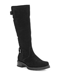 La Canadienne Gabriel Stone Oiled Suede Waterproof Boots Black