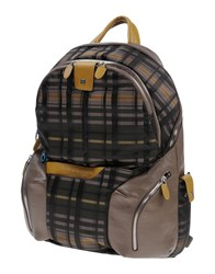 Piquadro Backpacks And Fanny Packs Military Green