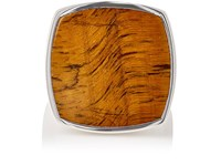 Tom Wood Women's Square Faced Signet Ring Silver
