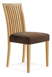 Saloom Furniture Model 24 Skyline Upholstered Side Chair 24Su Natural Natural Impression Impression Beige