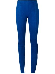 Haider Ackermann Elastic Waistband Leggings Blue