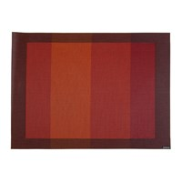 Chilewich Tempo Rectangle Placemat Paprika