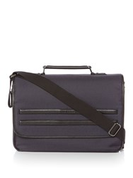 Ted Baker Jazjeff Nylon Messenger Bag Navy
