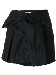 Faith Connexion Shirt Skirt Black