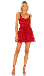 X By Nbd Chase Mini Dress In Red. Candy Red