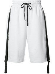 Y 3 Knee Length Shorts White