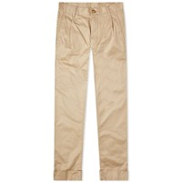 Beams Plus Pleated Chino Brown
