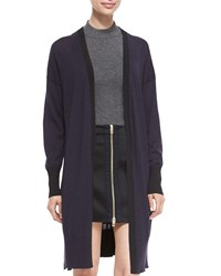 Rag And Bone Jessica Long Open Front Cardigan Salute