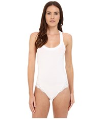 La Perla Souple Bodysuit White Women's Jumpsuit And Rompers One Piece
