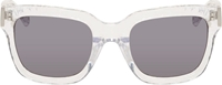 3.1 Phillip Lim Clear Acetate Sunglasses