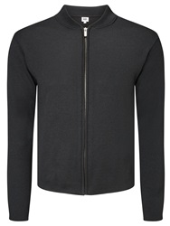 Kin By John Lewis Merino Blend Smart Zip Through Top Black