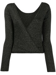 Forte Forte Metallic Wrap Back Jumper 60