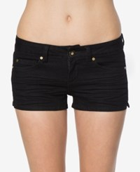 O'neill Juniors' Wesley Denim Shorts A Macy's Exclusive Black