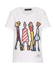 Giles Fairy Illustration Print T Shirt