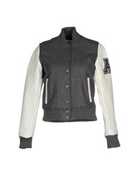 American College Jackets Grey