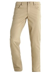Lee Brooklyn Straight Trousers Light Sand Beige
