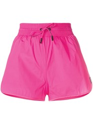 Off White Track Shorts Pink