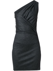 Dsquared2 One Shoulder Dress Grey