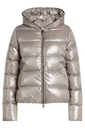 Duvetica Down Jacket With Hood Grey