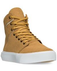 Supra Men's Camino Casual Sneakers From Finish Line Amber Gold White