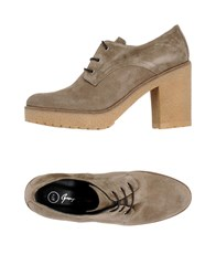 George J. Love Footwear Lace Up Shoes Dove Grey