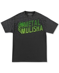 Metal Mulisha Men's Graphic Print T Shirt Black