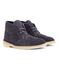 Clarks Originals Lined Desert Boot Grey