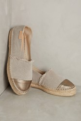 Anthropologie Mint And Rose Amalfi Espadrilles Neutral