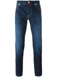 Jacob Cohen Gradient Straight Leg Jeans Blue