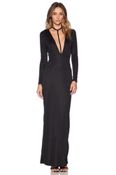 Aq Aq Strike Maxi Dress Black