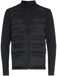 2Xu Heat Half Puffer Jacket Black