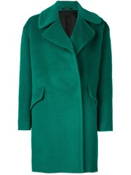 Tagliatore 'Agatha' Single Breasted Coat Green