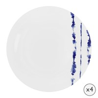 Amara Coast Porcelain Dinner Plates Set Of 4