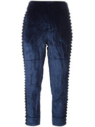 A.F.Vandevorst 'Parent' Tapered Trousers Blue