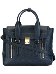 3.1 Phillip Lim Medium Pashli Satchel Blue