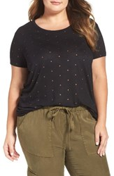 Dantelle Plus Size Women's Foil Mini Dot Tee