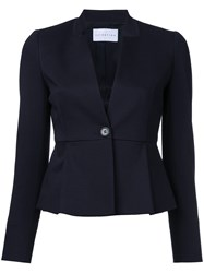 Estnation Fitted Blazer Women Cotton 36 Black