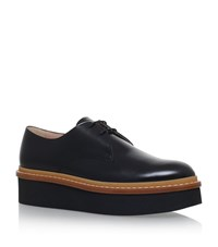 Tod's Gomma Derby Shoes Female Black
