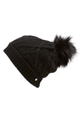 Women's Ted Baker London Cable Knit Hat With Pompom