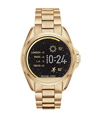 Michael Kors Android Wear Bradshaw Stainless Steel Bracelet Display Smartwatch Gold