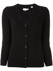Chinti And Parker V Neck Cardigan Black