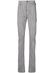 Lost And Found Ria Dunn Slim Darted Trousers White